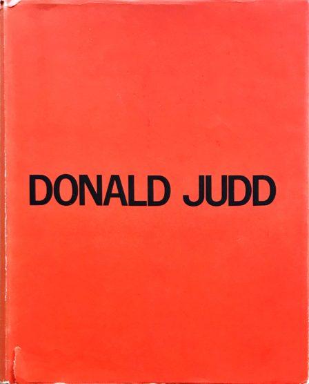 Donald Judd's Catalogue Raisonne