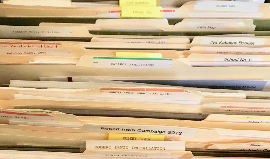 Folder in the CHINATI Archive