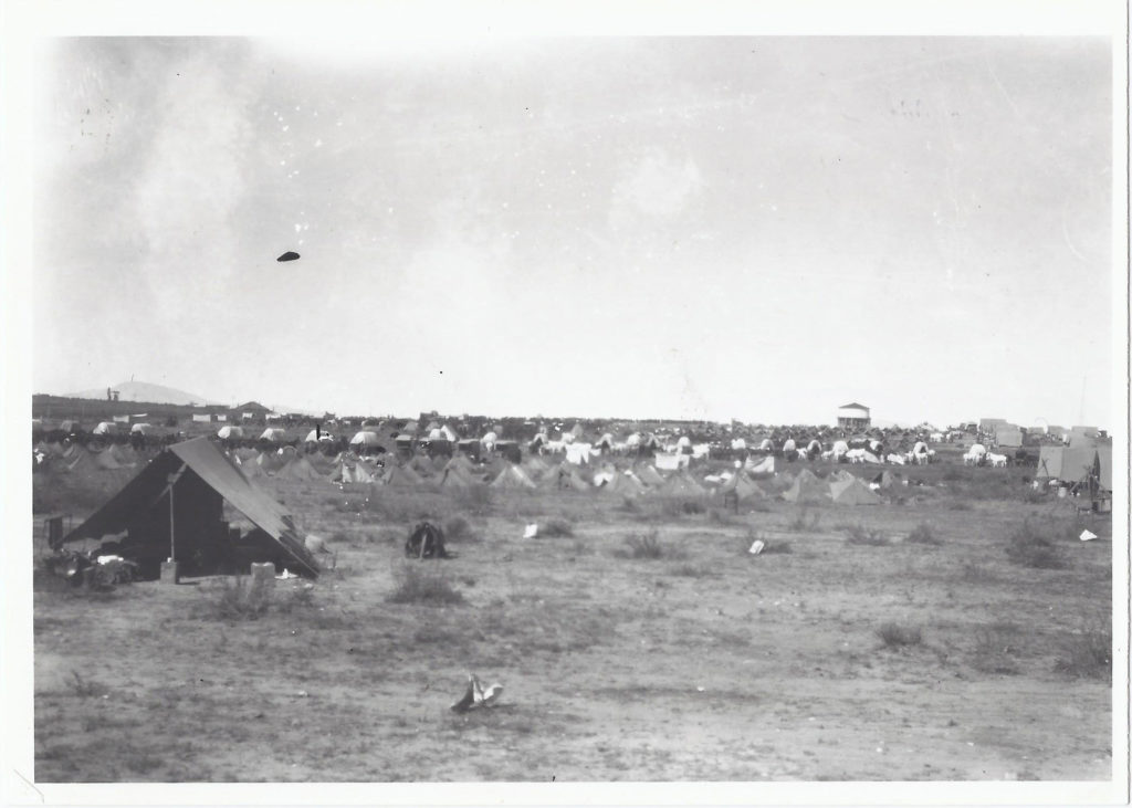 7th and 8th Cavalry camps. October 1927. Camp Marfa, TX.