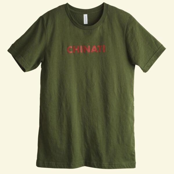 Chinati Foundation t-shirt green