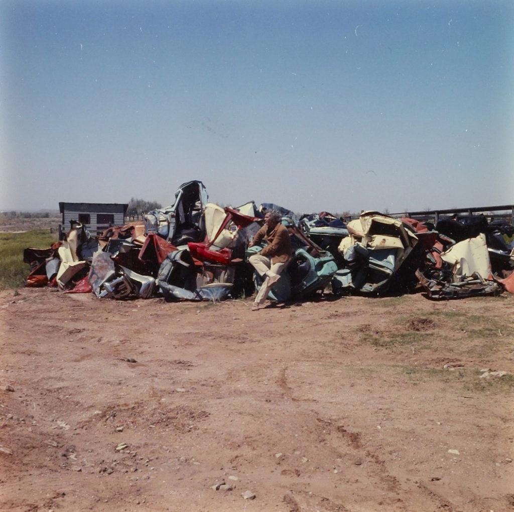 Archive photo of John Chamberlain at Marsh Ranch Amarillo Texas