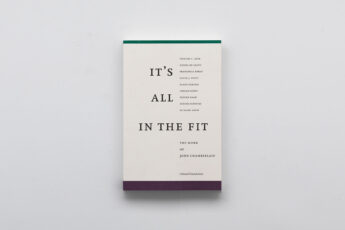 It's All in The Fit. Book cover