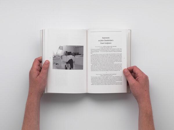 Chamberlain The Foam Sculptures book