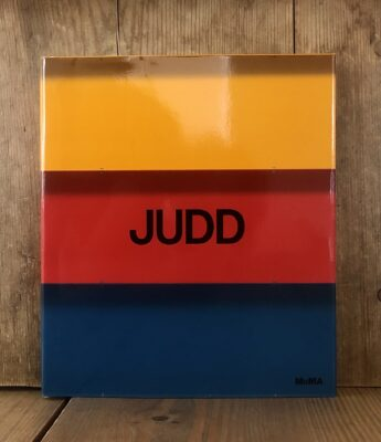 Judd MoMA Exhibition Catalogue