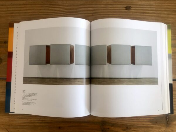 Judd MoMA Catalogue, interior page