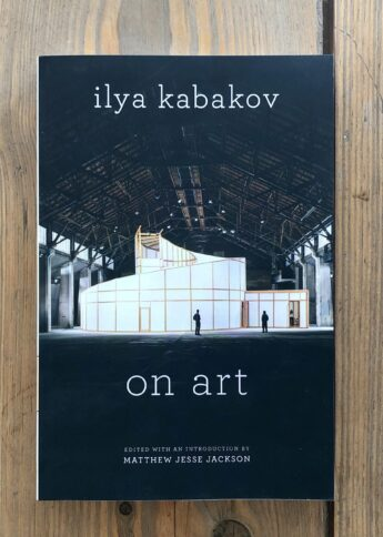 Ilya Kabakov On Art book