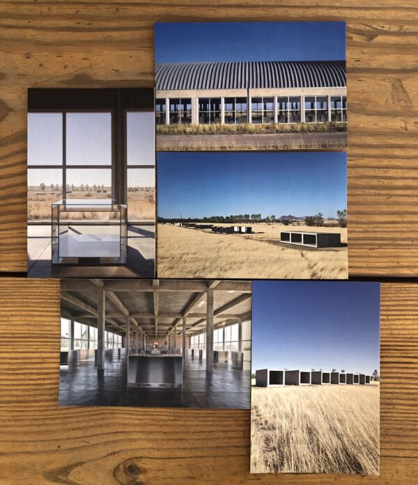 Donald Judd Postcards