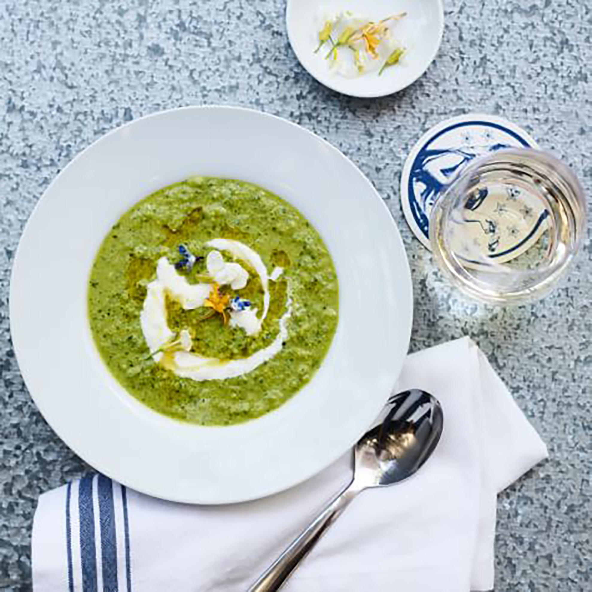 green gazpacho from cochineal