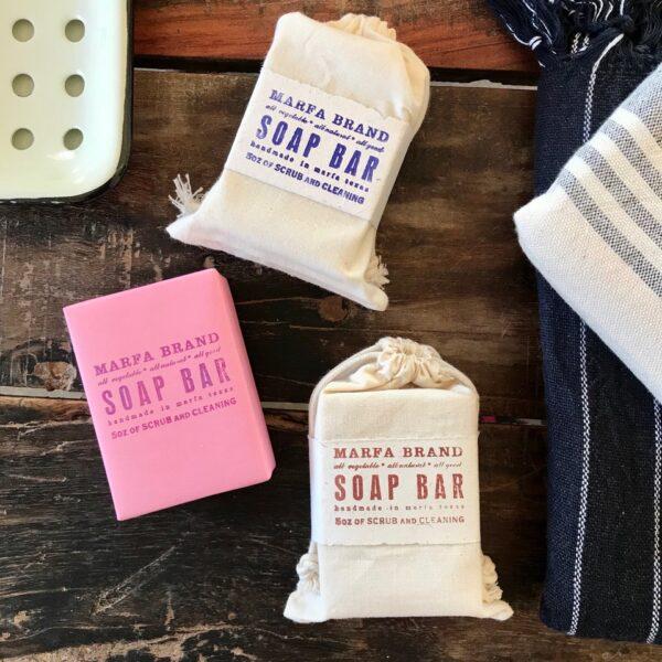 Handmade soap by Marfa Brand Soap