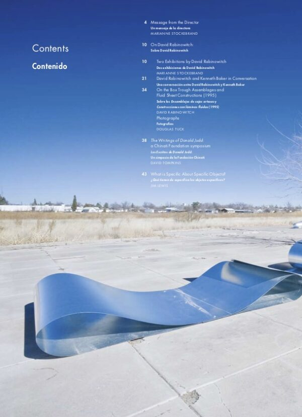 Newsletter Vol 13 Table of Contents