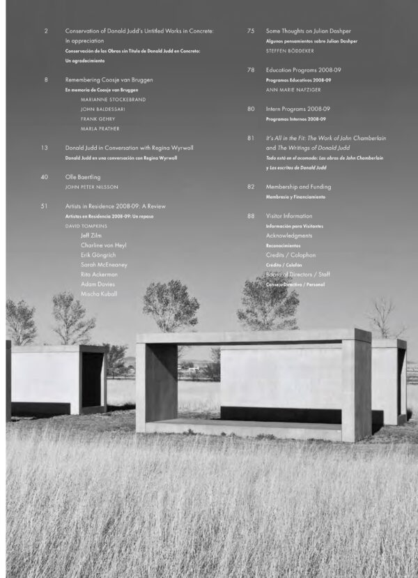 Newsletter Vol 14 Table of Contents