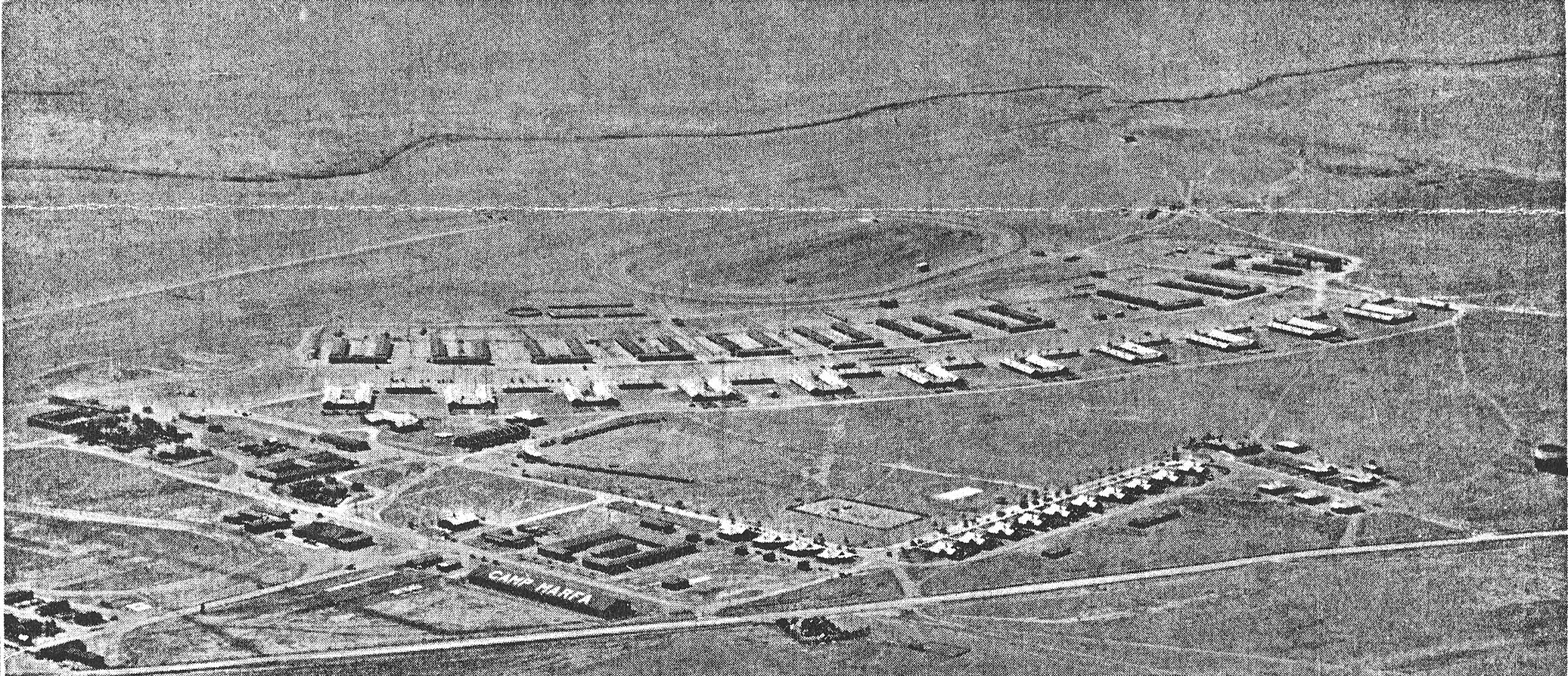 Aerial view of Fort D.A. Russell